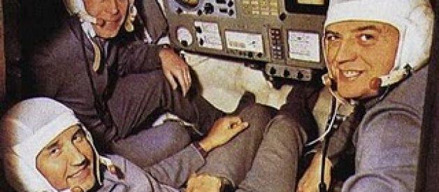 O mistério dos astronautas que morreram a sorrir