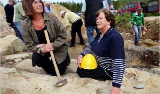 As avós que descobriram a maior jazida de ouro da Suécia quando colhiam frutos no bosque 2