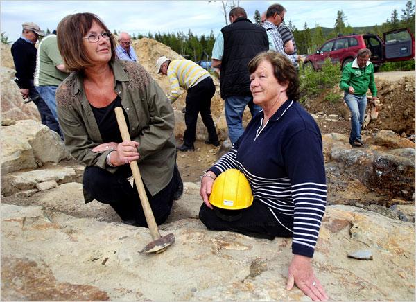 As avós que descobriram a maior jazida de ouro da Suécia quando colhiam frutos no bosque 1