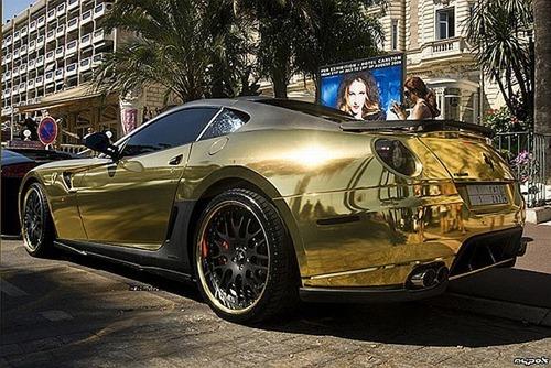 Ferrari 599 GTB da Hamann em ouro 5