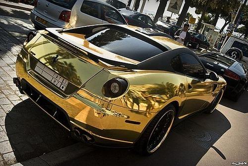 Ferrari 599 GTB da Hamann em ouro 6
