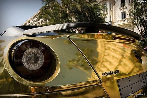 Ferrari 599 GTB da Hamann em ouro 7