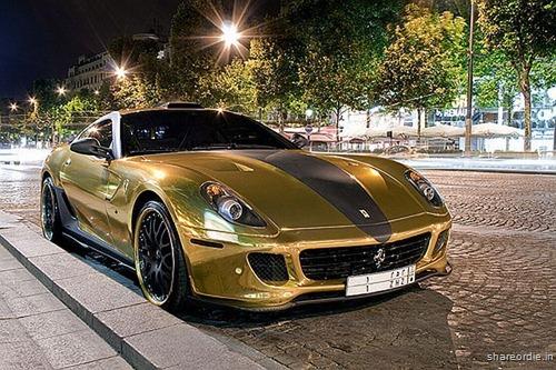 Ferrari 599 GTB da Hamann em ouro 15