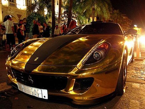 Ferrari 599 GTB da Hamann em ouro 16
