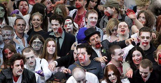 Desfiles de Zombies