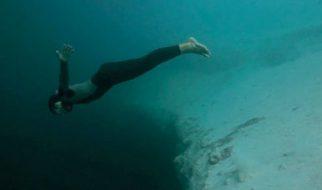 Base jumping sob a água! 3