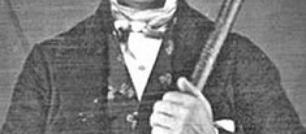 A única foto conhecida do misterioso Phileas Gage