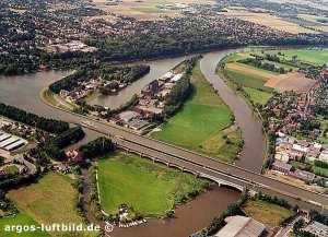 Você já viu um rio passar sobre outro?