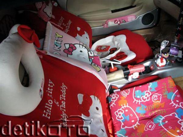 Hello Kitsch: Um Ferrari 360 'Hello Kitty' ou um caso extremo de xuning 3