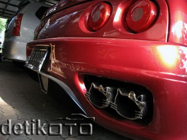 Hello Kitsch: Um Ferrari 360 'Hello Kitty' ou um caso extremo de xuning 7