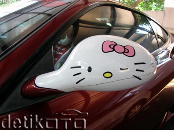 Hello Kitsch: Um Ferrari 360 'Hello Kitty' ou um caso extremo de xuning 8