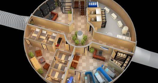 Um abrigo para o fim do mundo em 2012