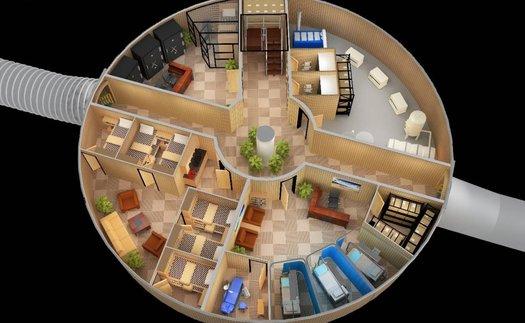 Um abrigo para o fim do mundo em 2012 1