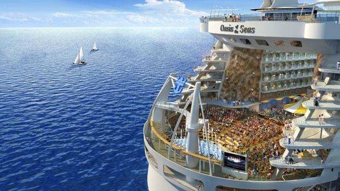 O maior navio de cruzeiros do mundo 1