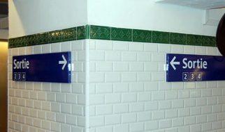Metro de Paris: em caso de emergência, saia pela… 18