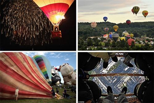 Festival internacional de balões de ar quente de Bristol 2