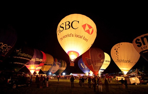 Festival internacional de balões de ar quente de Bristol 12