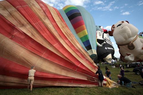 Festival internacional de balões de ar quente de Bristol 15