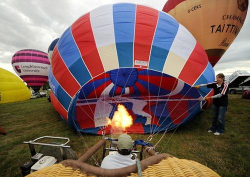 Festival internacional de balões de ar quente de Bristol 17