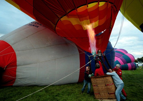 Festival internacional de balões de ar quente de Bristol 18