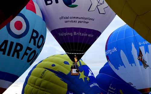 Festival internacional de balões de ar quente de Bristol 20