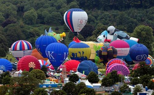 Festival internacional de balões de ar quente de Bristol 21