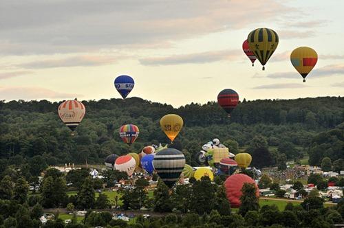 Festival internacional de balões de ar quente de Bristol 25