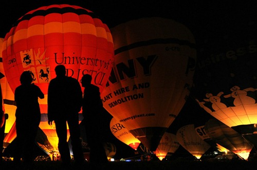 Festival internacional de balões de ar quente de Bristol 6