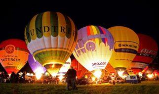 Festival internacional de balões de ar quente de Bristol 1