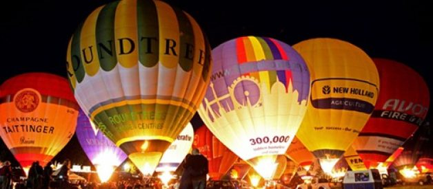 Festival internacional de balões de ar quente de Bristol