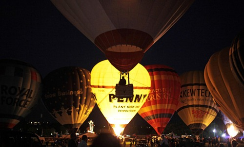 Festival internacional de balões de ar quente de Bristol 11