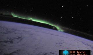 Espectaculares fotos de auroras boreais vistas do espaço 1