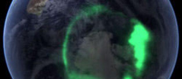 Como se formam as auroras