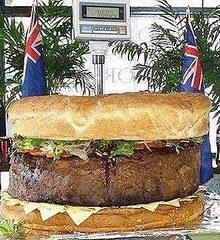 O maior hambúrguer do mundo