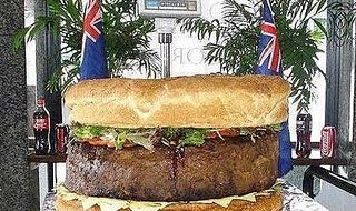 O maior hambúrguer do mundo 3
