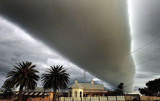 Uma nuvem incrível 1
