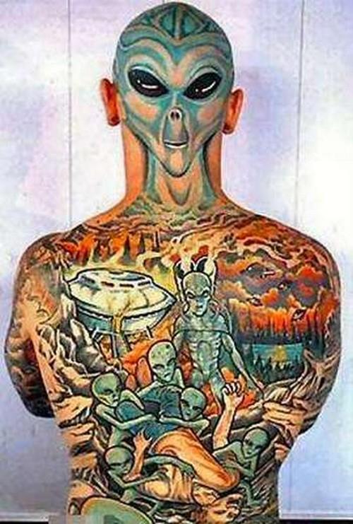 As 10 tatuagens mais bizarras 10