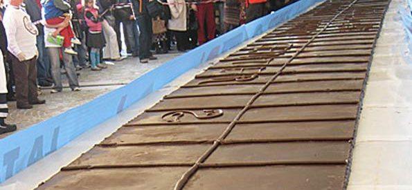 O maior chocolate do mundo