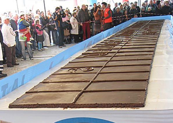 O maior chocolate do mundo 1
