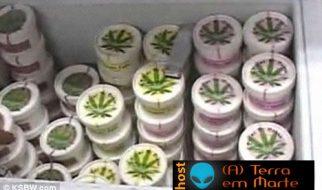 Gelados com sabor a Marijuana 2