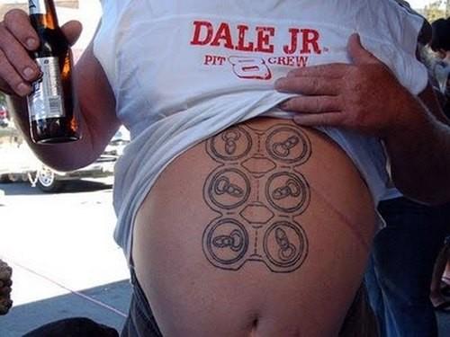 As 10 tatuagens mais bizarras 4