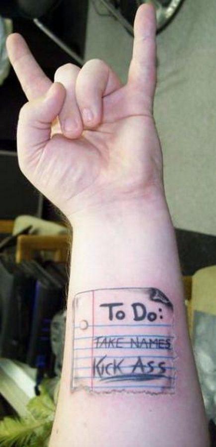 As 10 tatuagens mais bizarras 2