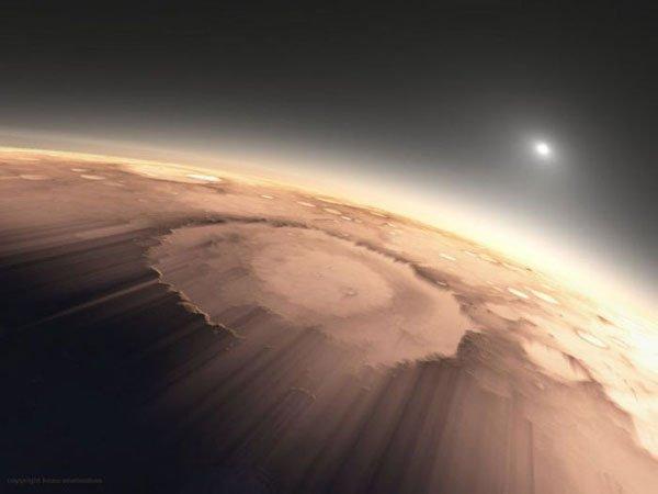 Bom dia, planeta vermelho! 7 Espectaculares nascer do sol marcianos 3