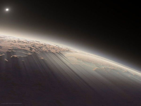 Bom dia, planeta vermelho! 7 Espectaculares nascer do sol marcianos 4