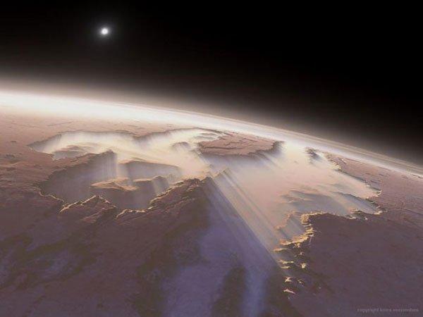 Bom dia, planeta vermelho! 7 Espectaculares nascer do sol marcianos 5