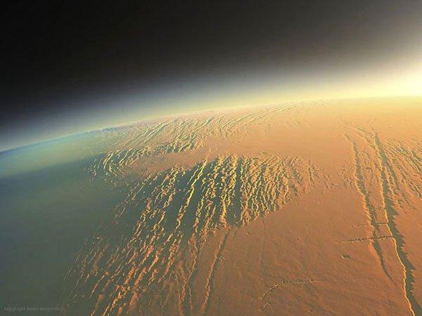 Bom dia, planeta vermelho! 7 Espectaculares nascer do sol marcianos 6
