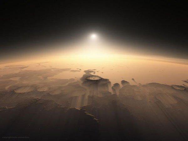 Bom dia, planeta vermelho! 7 Espectaculares nascer do sol marcianos 7