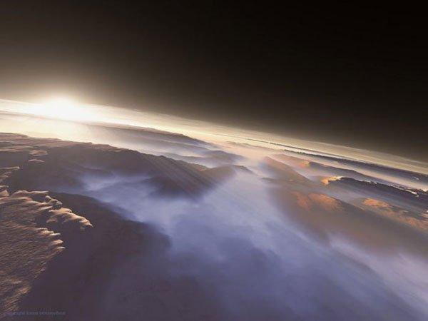 Bom dia, planeta vermelho! 7 Espectaculares nascer do sol marcianos 9