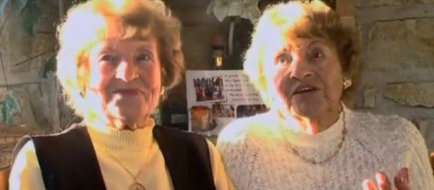 As gémeas mais velhas do mundo: O whisky e o exercício são o segredo da sua longevidade