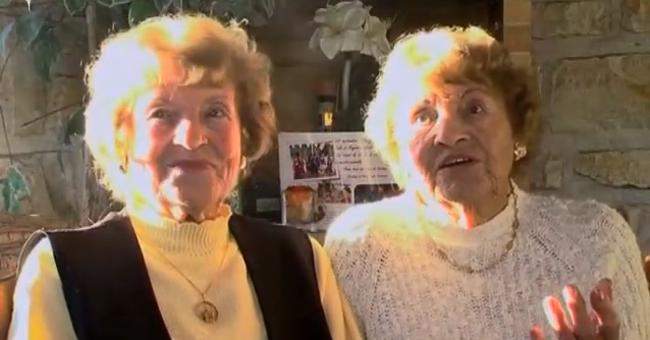 As gémeas mais velhas do mundo: O whisky e o exercício são o segredo da sua longevidade  1